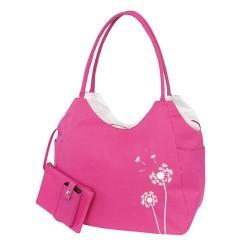 Dametasker med lynlås