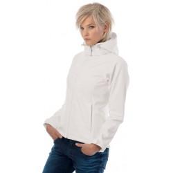 Softshell jakke med hætte