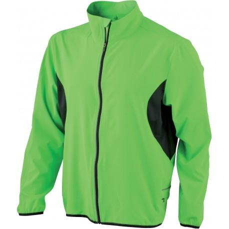 Let løbejakke i elastisk polyester