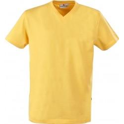 T-shirts,  v-hals, 100% bomuld, 160g/m2            6034015A61