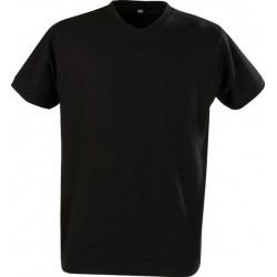 Herre t-shirt, v-hals, 200g/m2