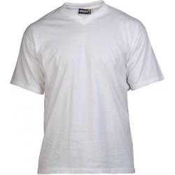 T-shirt,  V-hals, 160g/m2.
