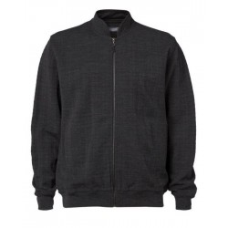 Clipper Herrecardigan Charcoal
