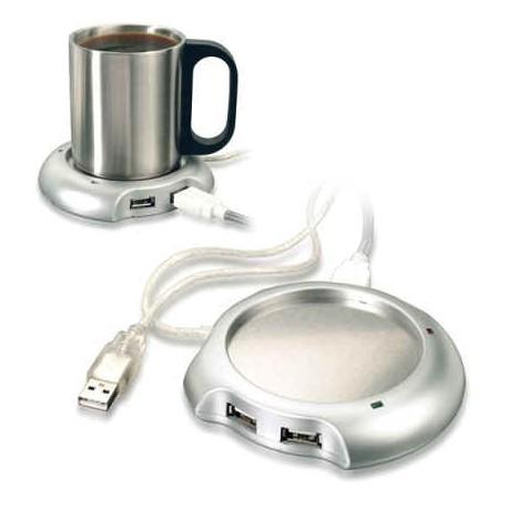 USB hub,varmer samt rustfri stålkrus