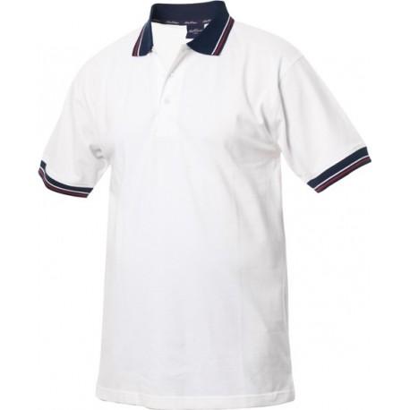 Poloshirt, herre, 100% bomuld
