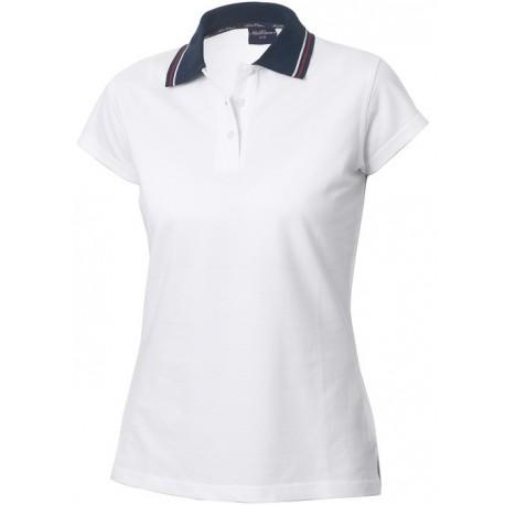 Poloshirt, dame, 100% bomuld