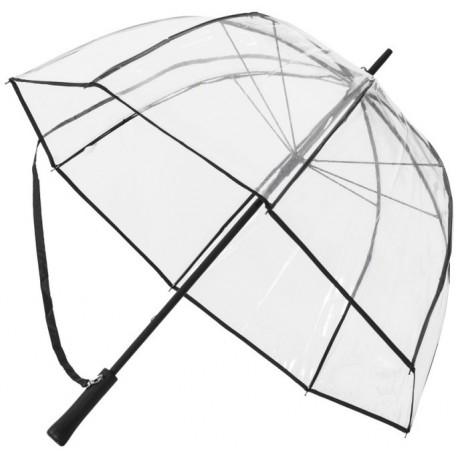 Klar transparent paraply 92cm Ø