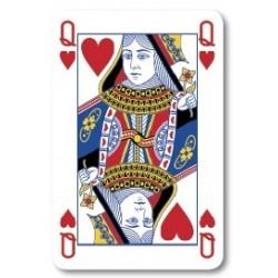 Spillekort m/4-farve reklame
