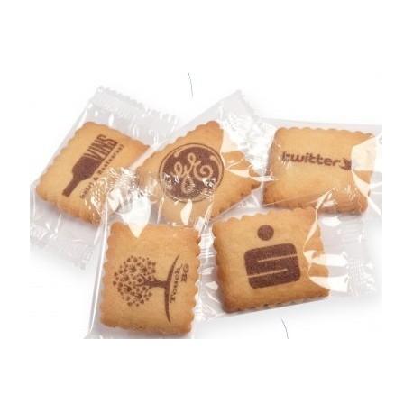 Småkager med logo