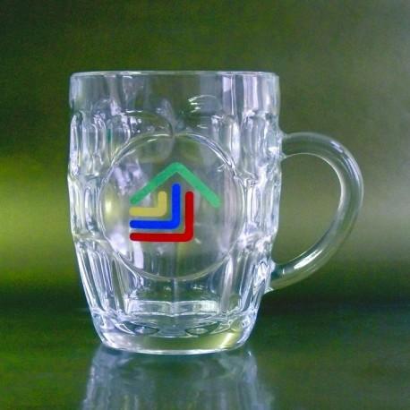 Glas ølkrus, 28cl