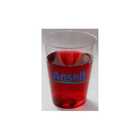 Plastic glas, 200 cl.