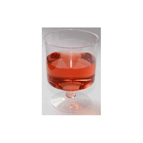 Plastic vinglas, 170 cl