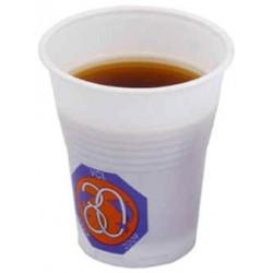 Stabelbare plast drikkebægere. 15 cl