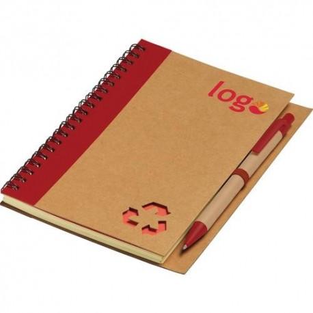 Notesbog med kuglepen