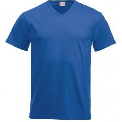 T-shirt v-hals 100% bomuld Clique 029331A38