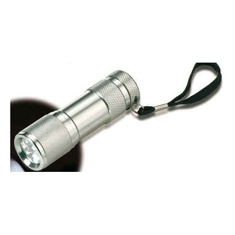 Aluminium LED lommelampe incl bæretaske