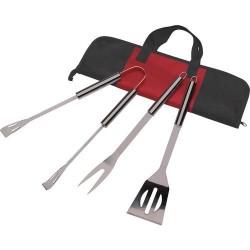Grill tilbehør rustfri stål i taske