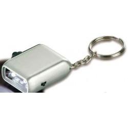 Dynamo ABS lampe med nøglering.