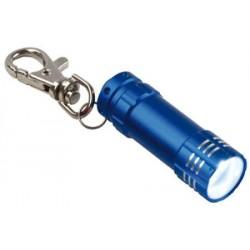 Aluminium LED lampe med karabinhage