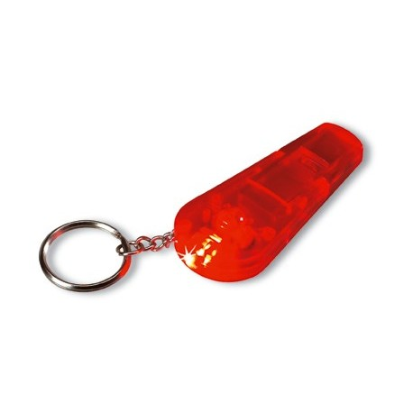 Transparent nøglevedhæng med LED lys