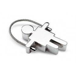 Metal nøglevedhæng