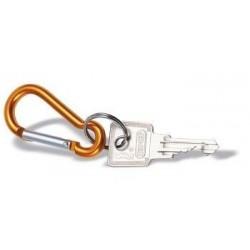 Karabinhage med nøglering