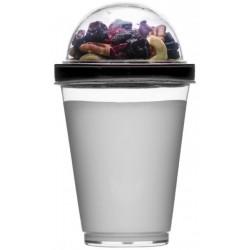 Yoghurtbæger sort