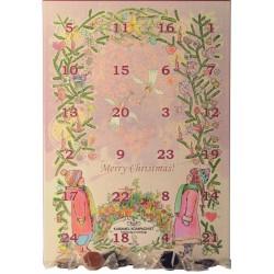 Julekalendere med karameller       607024001a300