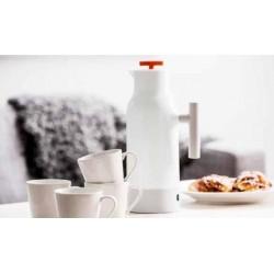 Kaffekande med 4 stk krus