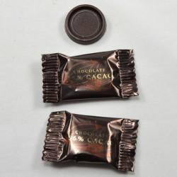 Mørk chokolade 56% 3g