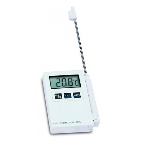 Professionel thermometer med indstikbar