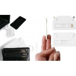 Mobiloplader i creditkort størrelse