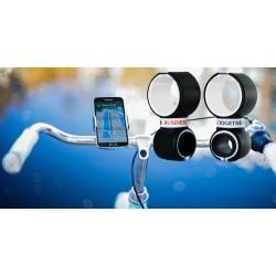 GSM, telefon og flaskeholder til cykler