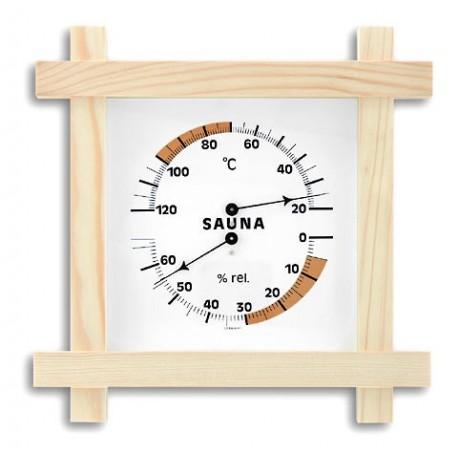 Sauna thermometer og hygrometer