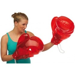 Oppustelige boksehandsker