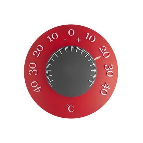 Usædvanligt, patenteret inden -og udendørsthermometer