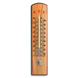 Indendørsthermometer i bøg