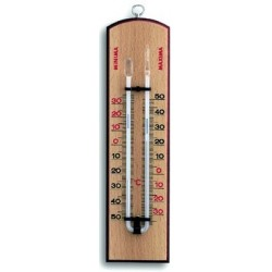 Thermometer der måler maksimum -og minimum
