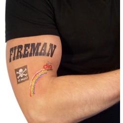 Tattoo, midlertidig