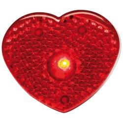 Refleksbrikker med lys,hjerteformede   56093A305