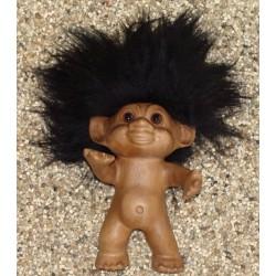 Lykketrolde 14cm røget eg m/sort hår