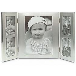 Aluminium fotoramme til 5 stk fotos
