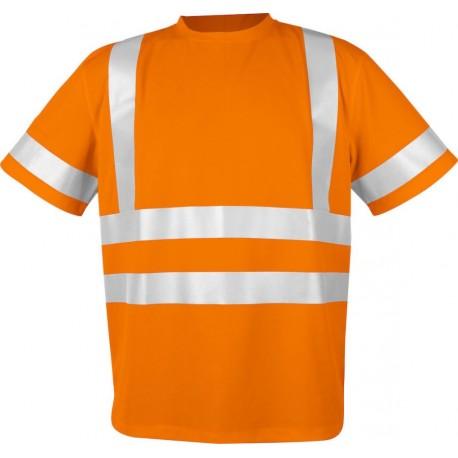 Sikkerheds t-shirts EN ISO 20471-klasse 2/3