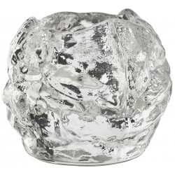 Kosta Boda Snowball fyrfadsstager.7 x ø8 cm.
