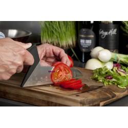 Grøntsagskniv i design som en murerske.