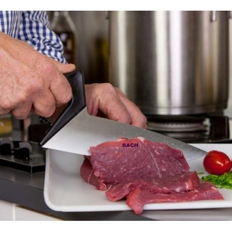 Kokkekniv i design som en murerske.
