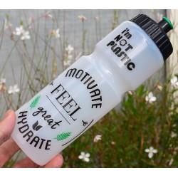 Vandflasker 750 ml, fremstillet af sukkerrør
