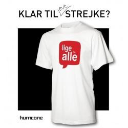 T-shirts incl Jeres reklame påtrykt