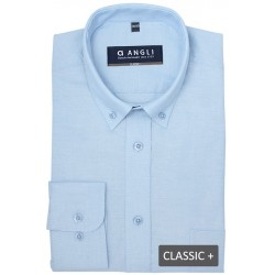 Angli herre oxford skjorter 70% bomuld/30% polyester