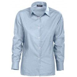 Grizzly dame Oxford skjorter 70% bomuld/30% polyester 150978A61